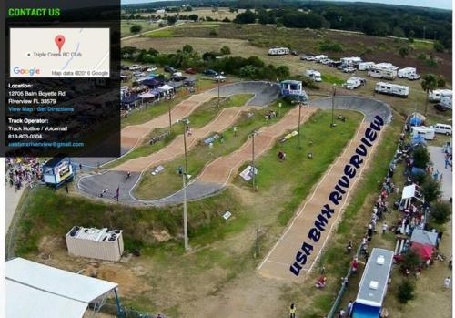 USA Official BMX Training Facility