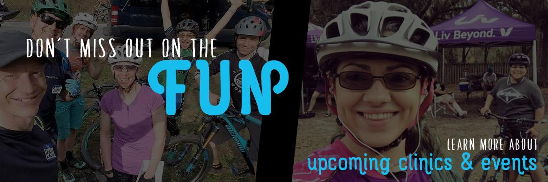 Upcoming events at AJ's Bikes