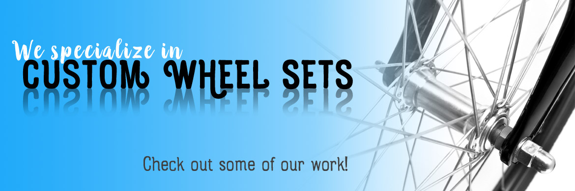 Custom Wheelsets - Gnarwheels - at AJ's Bikes