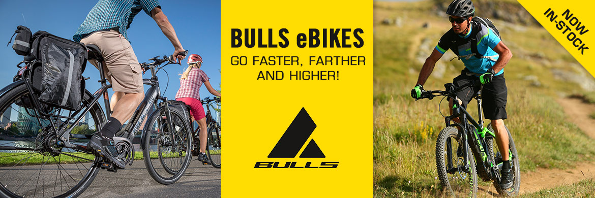 BULLS eBIKES, electric bikes, from Bike Connection