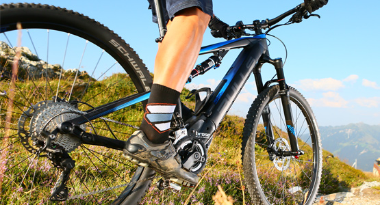 E Bikes perfect for mountain biking