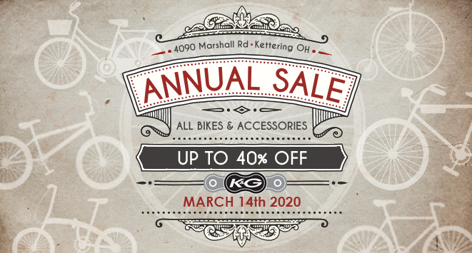 Annual sale March 14 2020