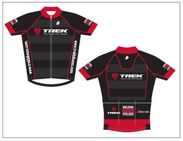 Hincapie Trek Store Jersey Black/Red Men's