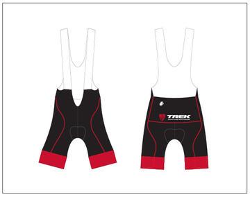 Hincapie Trek Store Bib Short Black/Red Women's