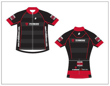 Hincapie Trek Store Jersey Black/Red Women's