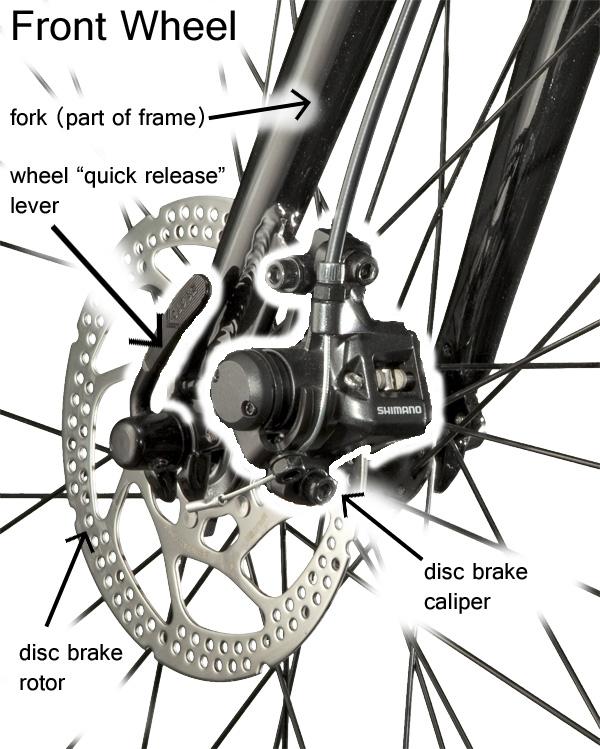Basic Bicycle Anatomy 101 Brake Systems South Carolina Bike Shop