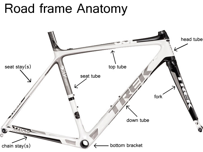 Bike Frame Diagram Frame Diagram - Wiring Diagrams User