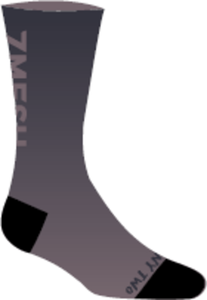 """7mesh Fading Light Sock - 7.5"""""""