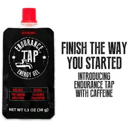 Endurance Tap Salted Maple Syrup Energy Gel with Caffeine