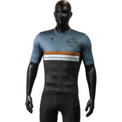 The Bike Shop The Bike Shop Custom Orange Stripe RBX Jersey - Mens