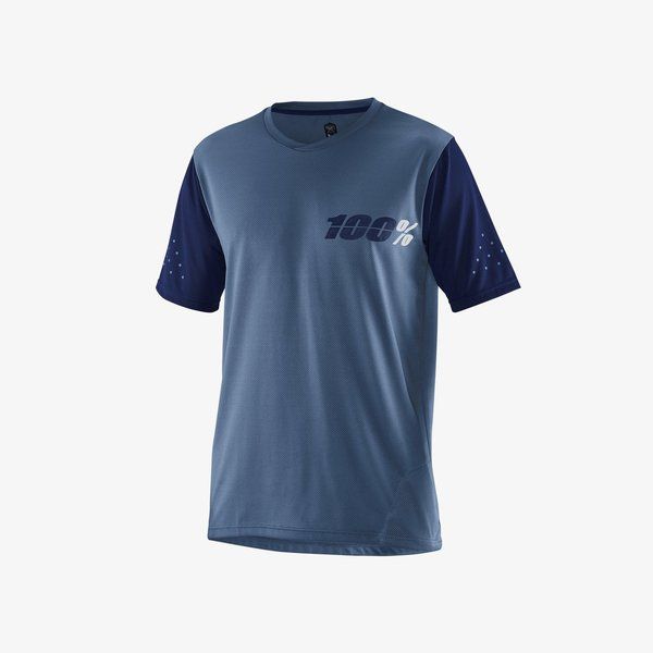 100% Ride Camp Jersey Color: Slate Blue