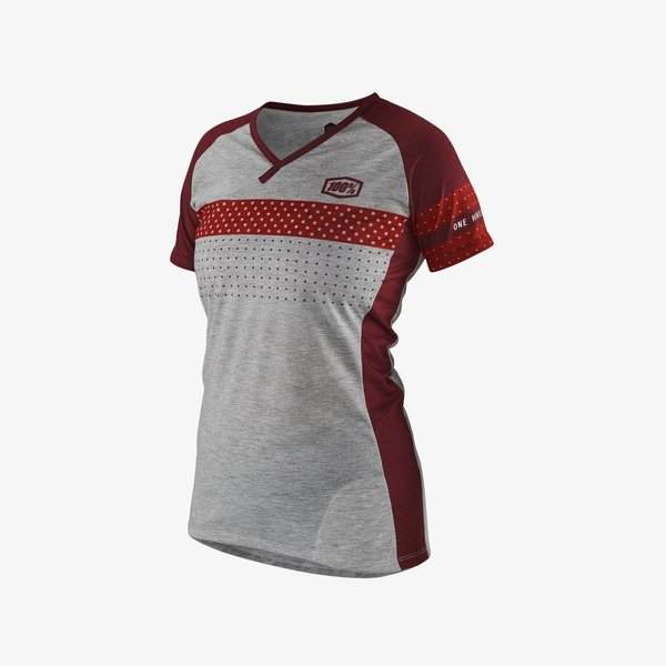100% Airmatic Womens Jersey Color: Red