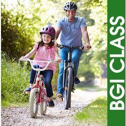 BGI Classes One-on-One Bicycle Learn to Ride Instruction for Youth and Adults