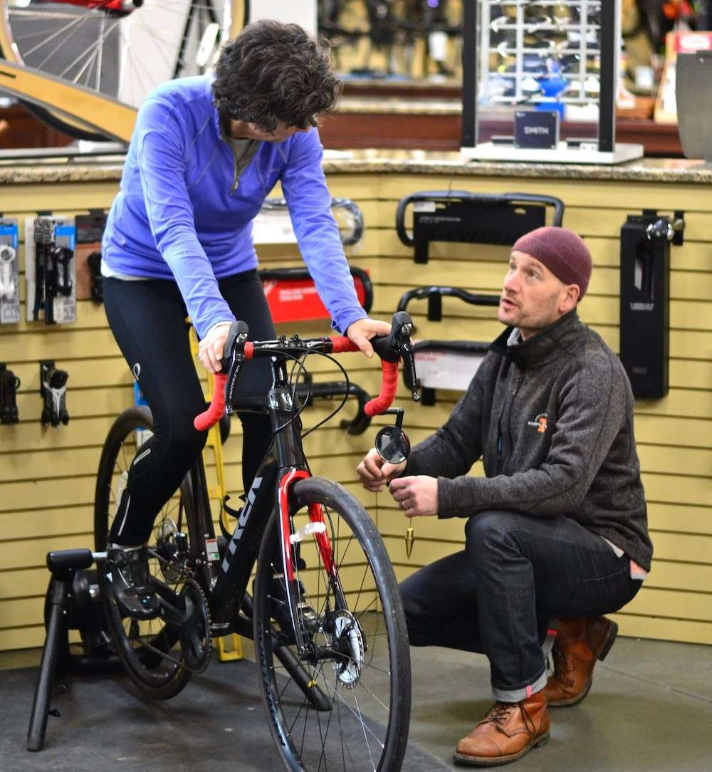 Zane's Cycles Professional Bike Fit