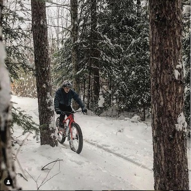 Zane's Cycles Winter Snow Ride Fat Bike