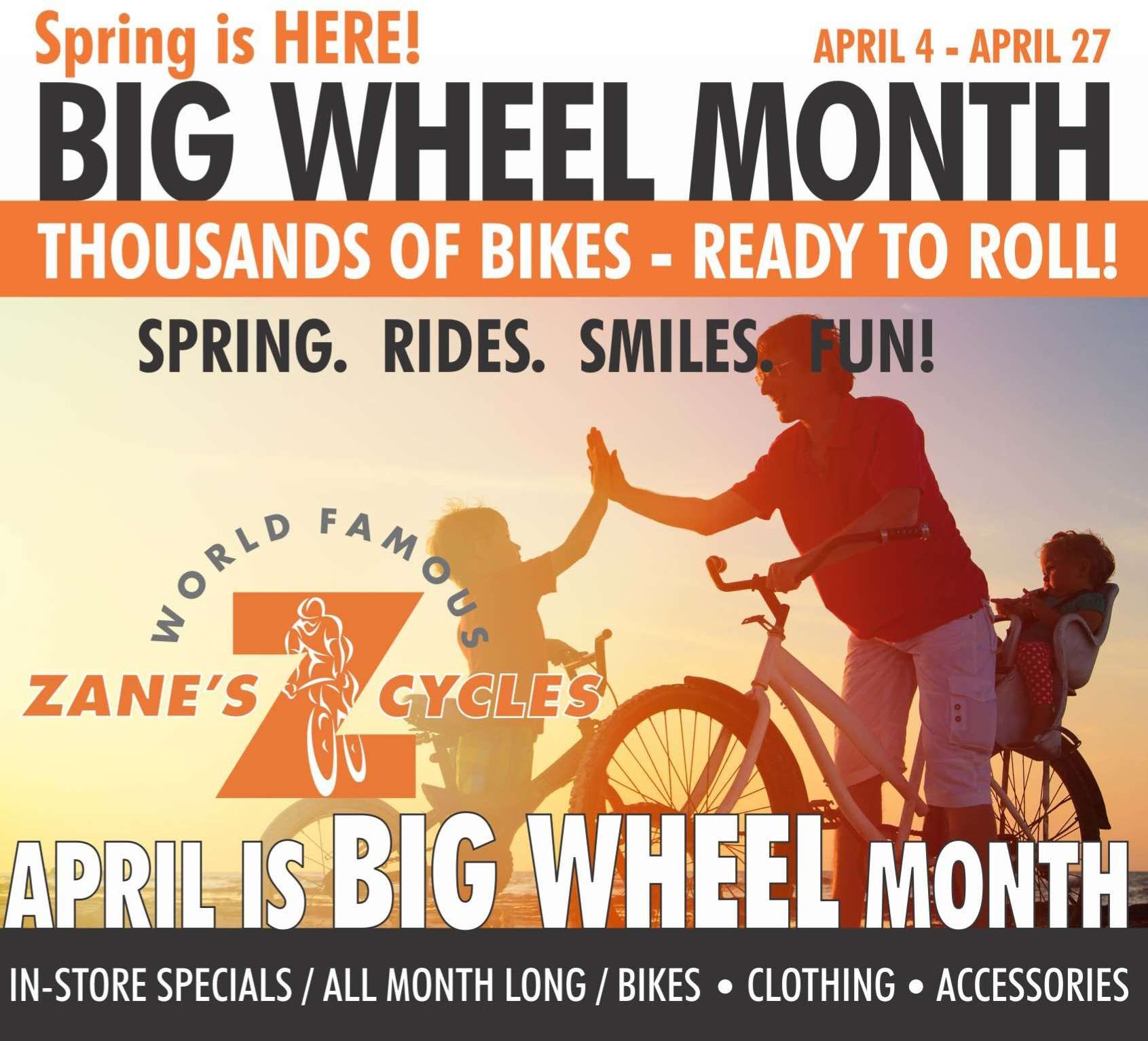 Big Wheel Month