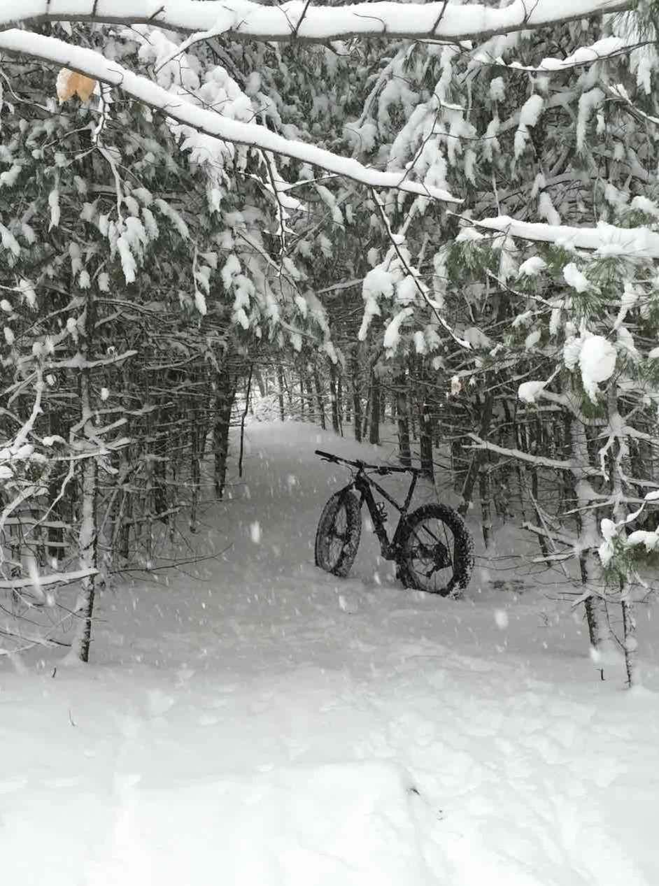 Fat Bike Fat boy Specialized Electric Bike Snow Winter Fat