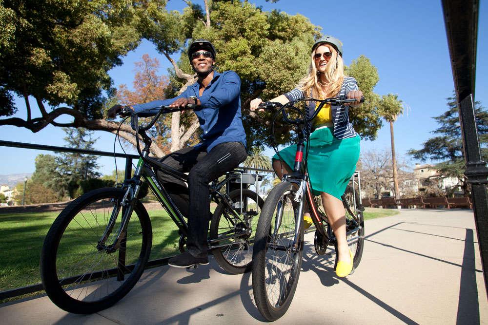 izip electric bikes at Village Bike & Fitness Grand Rapids, Michigan