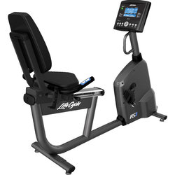 Life Fitness RS1 Recumbent Exercise Bike with Go Console