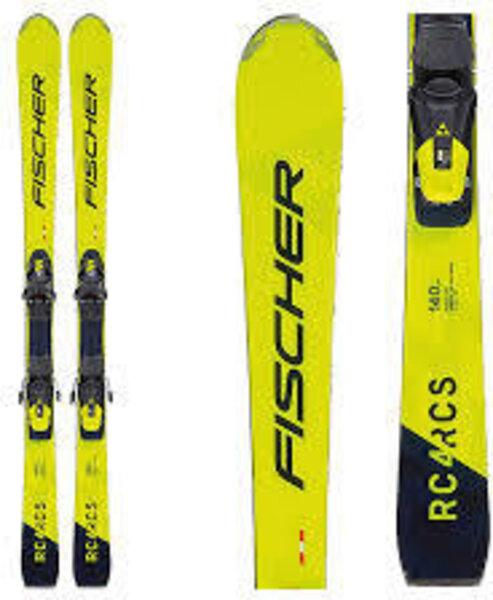 Fischer Skis RC4 RCS Jr Ski