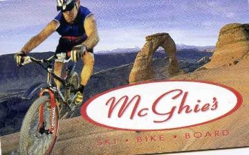 Mcghie's Las Vegas Gift Card