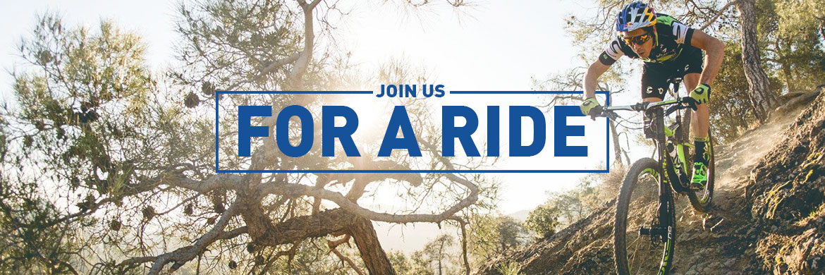 Join us for a ride or event