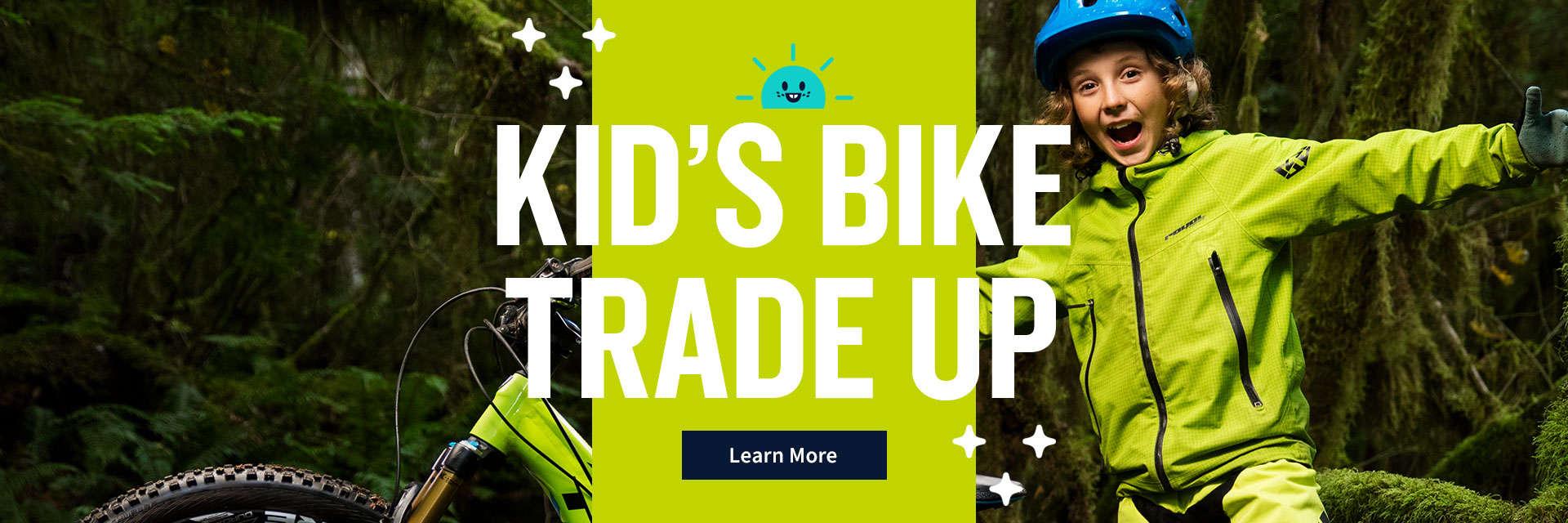 Kid's Bike Trade Up