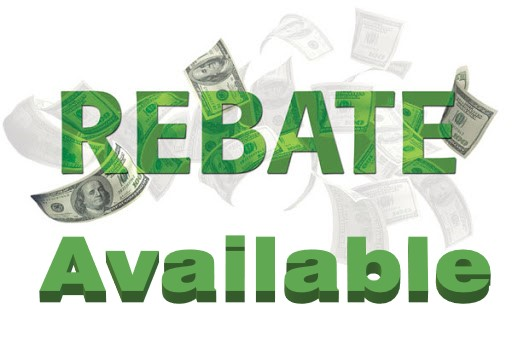 Rebate Available during a limited time!