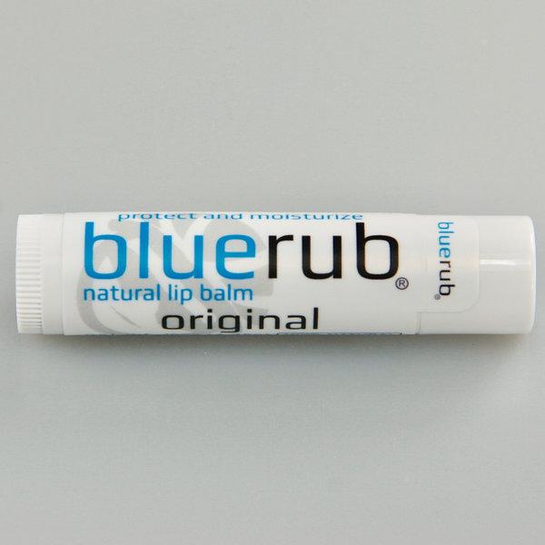 Blue BlueRub natural lip balm