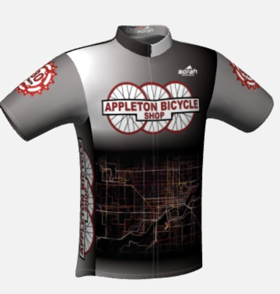 Appleton Bicycle Shop 80th Anniversary Shop Jersey