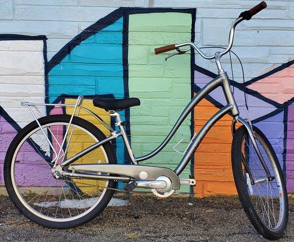 Appleton Bicycle Shop Trek Pure DLX Grey