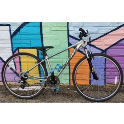 Appleton Bicycle Shop Specialized Crosstrail Silver/Blue