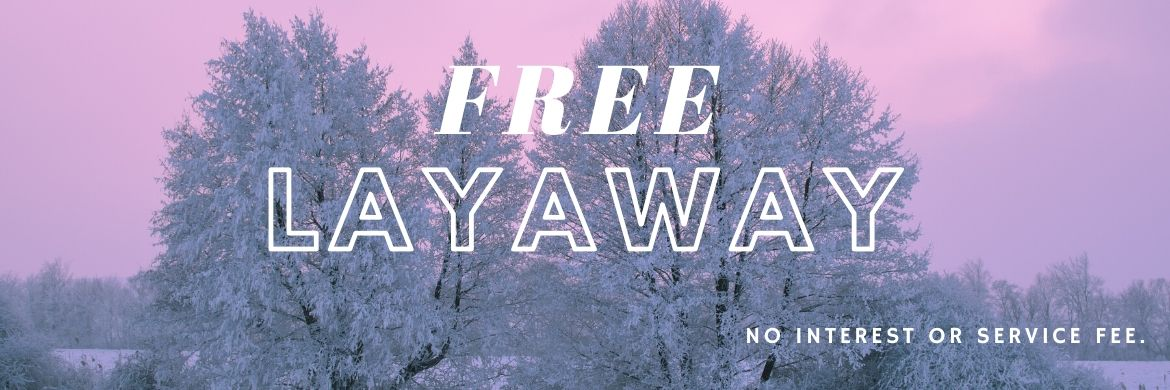 Layaway now for Spring at The Bicycle Store