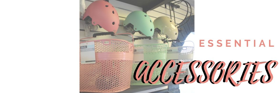 Accessorize. Let The Bicycle Store help you with your essential accessories