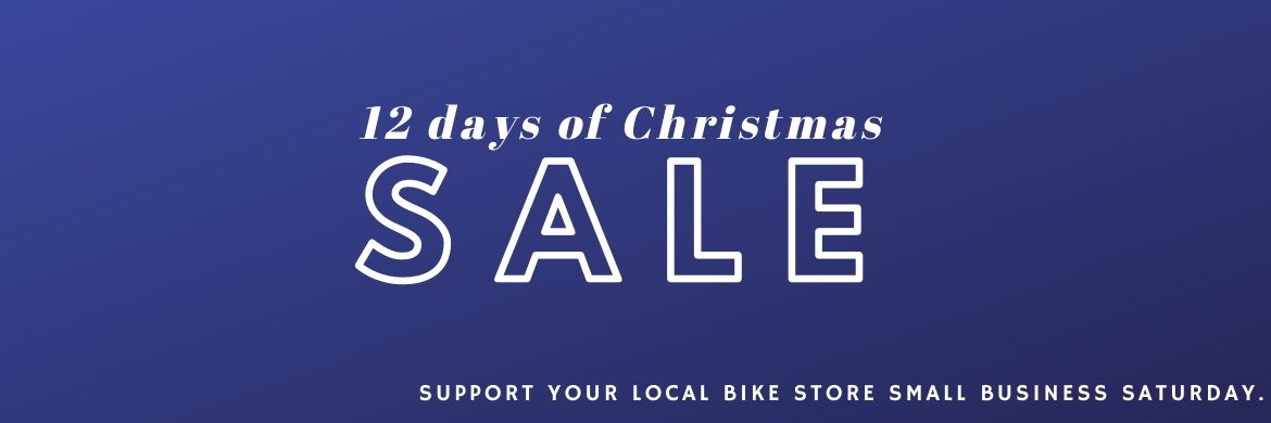 Huge Discounts + Free Gift...Support The Bicycle Store on Small Business Saturday