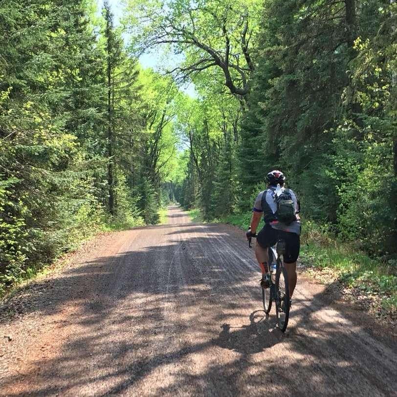 gravel bike riding