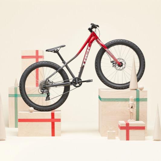 kids' bike as a holiday gift