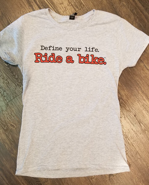 Century Cycles Define Your Life T-Shirt (Women's)