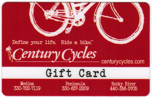 Century Cycles Gift Card