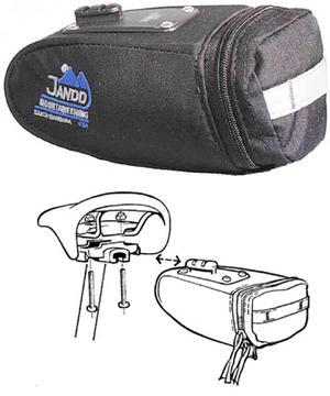 Jandd Mountain Wedge II Seat Bag with Klickfix