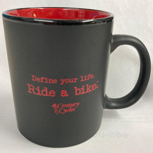Century Cycles Define Your Life. Ride a Bike. Coffee Mug