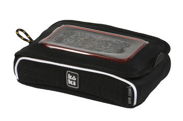 Koki Mogi Smartphone Handlebar Bag Color: Black