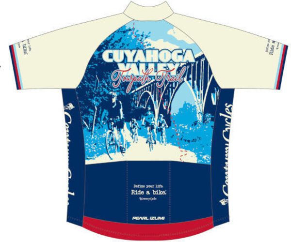 Pearl Izumi Century Cycles Cuyahoga Valley Towpath Trail Cycling Jersey (Women's)