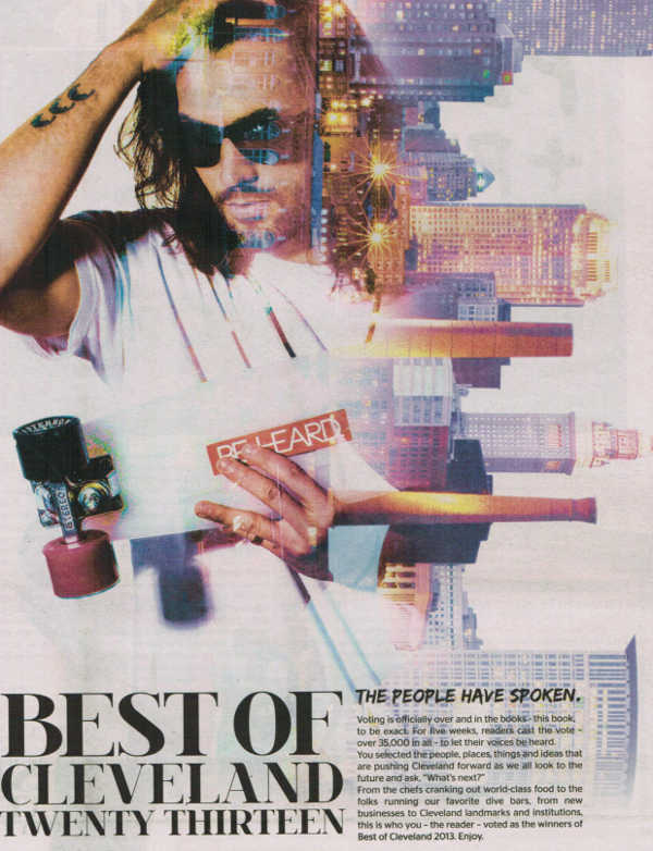 Scene Magazine Best of Cleveland 2013 cover page