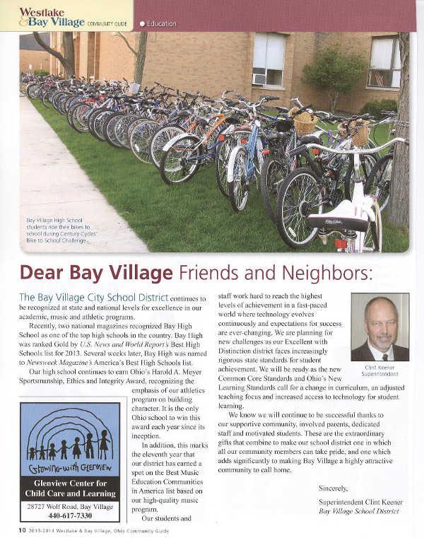 Scan of 2013-2014 Westlake Bay Village Community Guide page