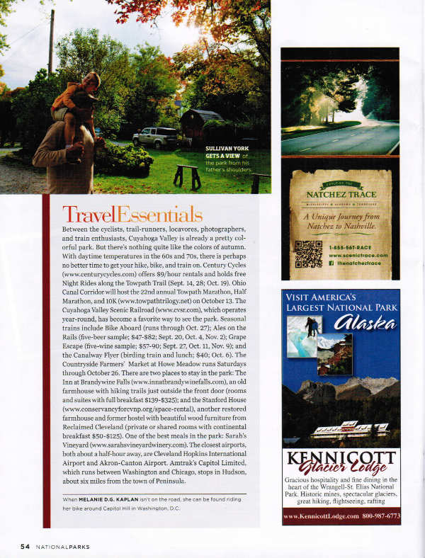 National Parks Magazine Fall 2013 page 54