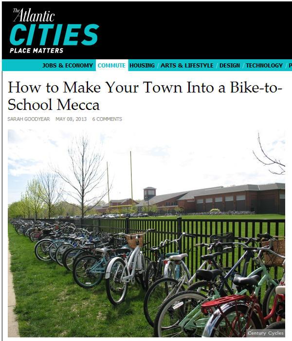 Screen shot of May 8, 2013 The Atlantic Cities article