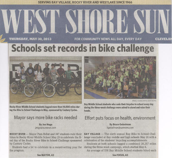 Scan of May 30, 2013 West Shore Sun article (part 1)