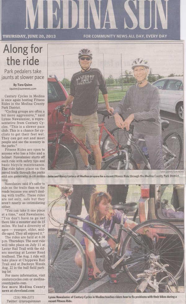 Scan of June 20, 2013 Medina Sun article