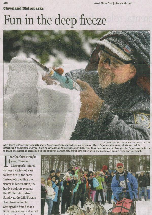 Scan of Jan. 9, 2014 West Shore Sun article (part 1)